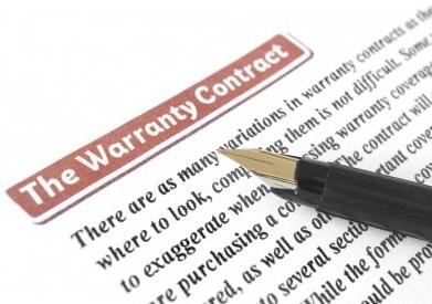 Check warranties